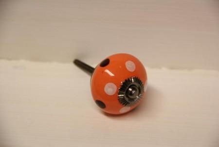 Orange / gule knotter